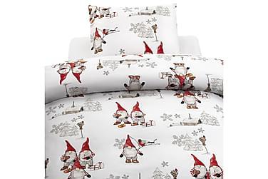 Påslakanset Frosty Christmas 2-Dels Set