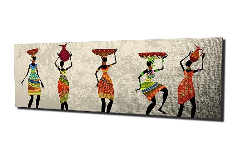 Canvasmålning Dekorativ - Flerfärgad - Inredning - Väggdekor - Canvastavlor