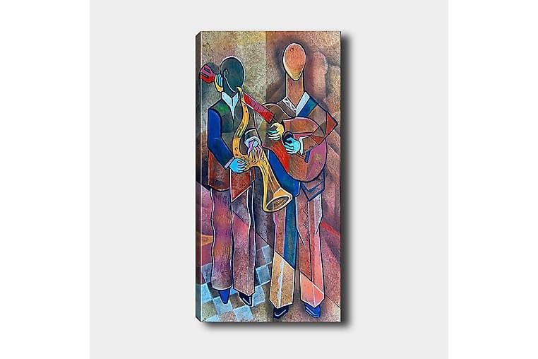 Canvastavla DKY Abstract & Fractals Flerfärgad - 50x120 cm - Inredning - Väggdekor - Canvastavlor