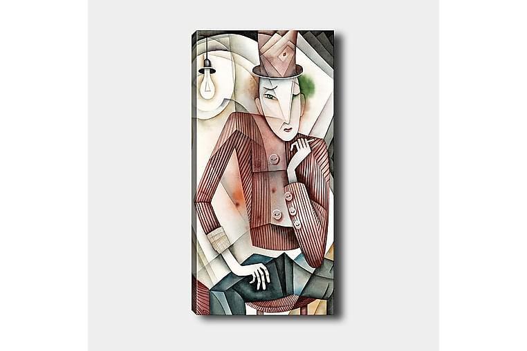 Canvastavla DKY People Flerfärgad - 50x120 cm - Inredning - Väggdekor - Canvastavlor