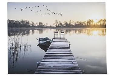 Canvastavla Jetty in Sunset