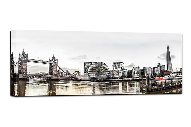 Canvastavla London 60x150 cm - Flerfärgad - Inredning - Väggdekor - Canvastavlor