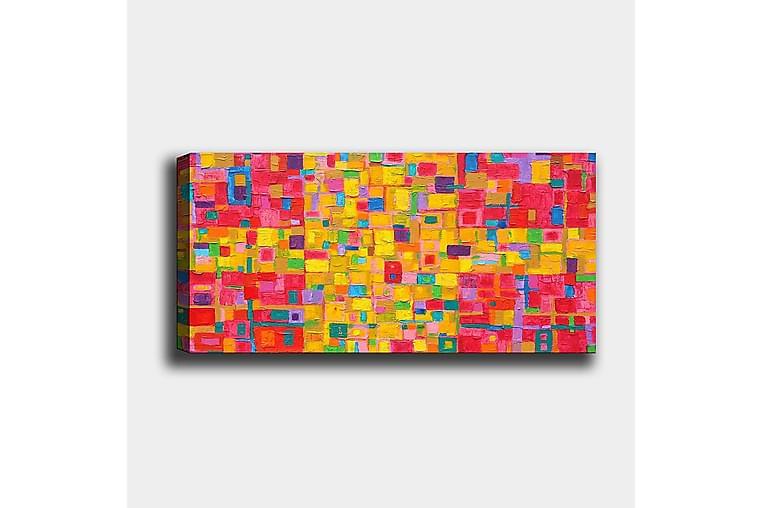 Canvastavla YTY Abstract & Fractals Flerfärgad - 120x50 cm - Inredning - Väggdekor - Canvastavlor