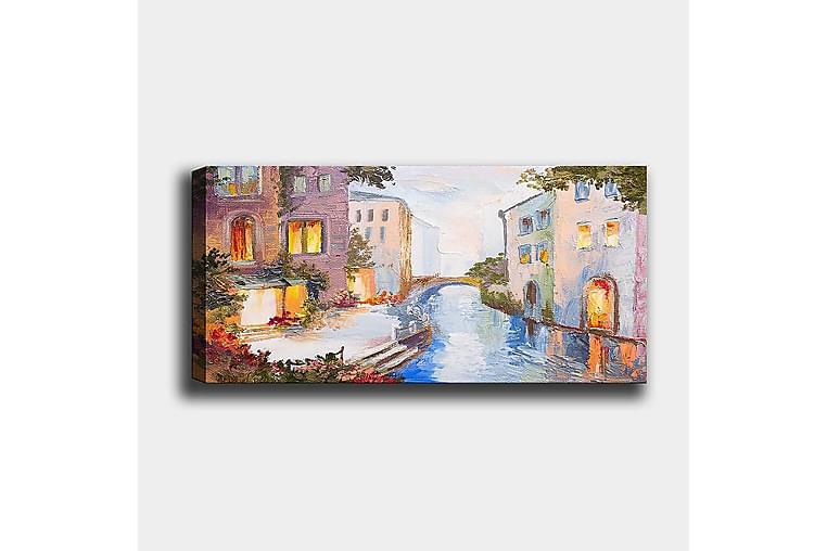 Canvastavla YTY Buildings & Cityscapes Flerfärgad - 120x50 cm - Inredning - Väggdekor - Canvastavlor