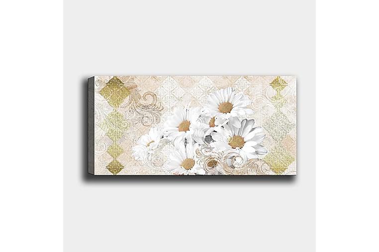 Canvastavla YTY Floral & Botanical Flerfärgad - 120x50 cm - Inredning - Väggdekor - Canvastavlor
