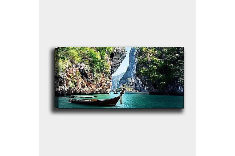Canvastavla YTY Landscape & Nature Flerfärgad - 120x50 cm - Inredning - Väggdekor - Canvastavlor