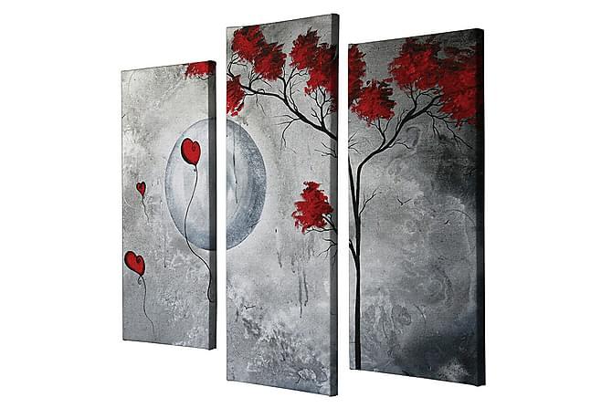 Decorative Canvas Painting (3 Pieces) - Inredning - Väggdekor - Canvastavlor