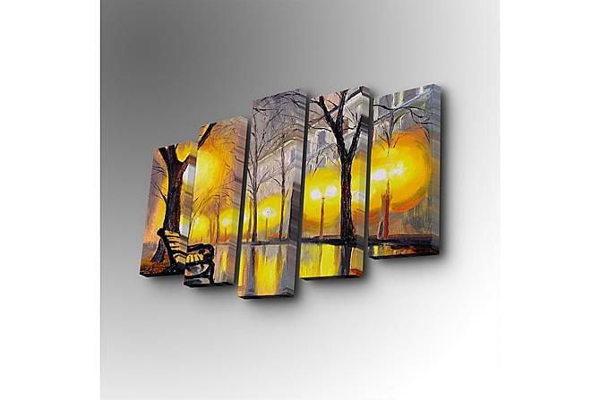 Decorative Canvas Painting (5 Pieces) - Inredning - Väggdekor - Canvastavlor