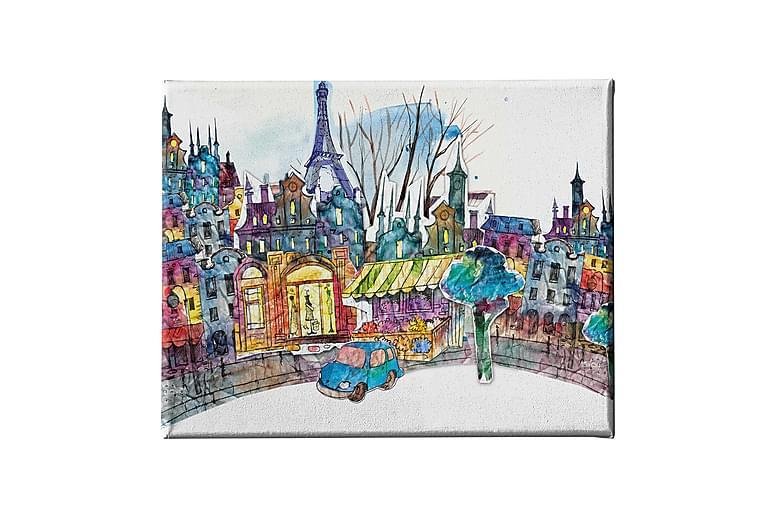 Eiffeltornet Ramverk - Homemania - Inredning - Väggdekor - Canvastavlor
