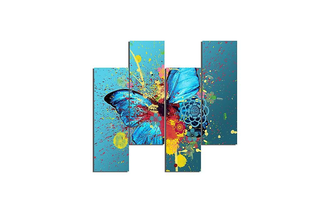 Fjärilar Ramverk - Homemania - Inredning - Väggdekor - Canvastavlor