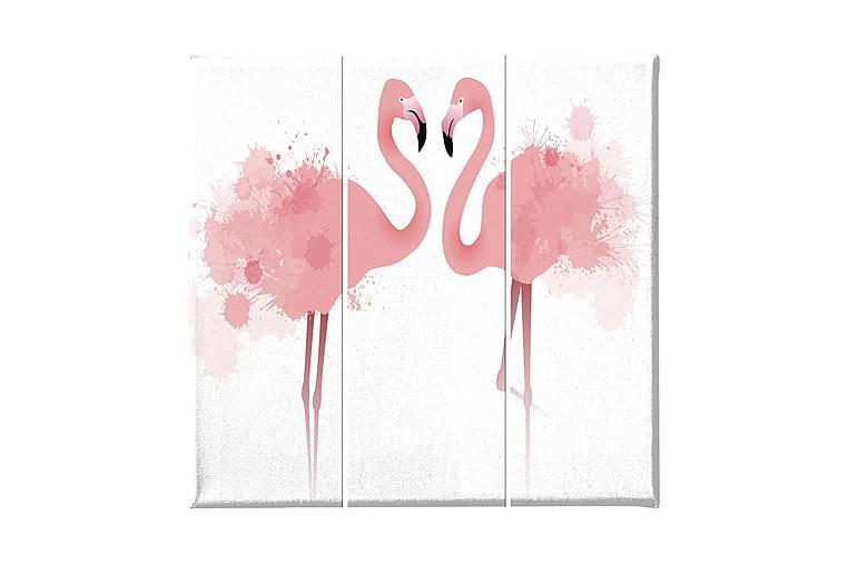 Flamingo Ramverk - Homemania - Inredning - Väggdekor - Canvastavlor