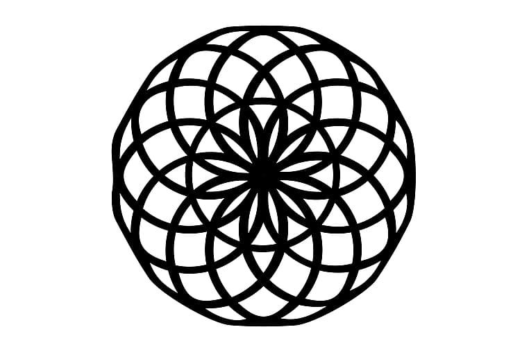 Geometry Väggdekor - Homemania - Inredning - Väggdekor - Canvastavlor