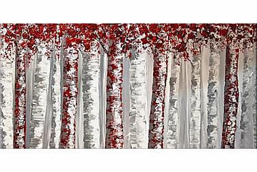 Knivmålning Träd 50x100 cm