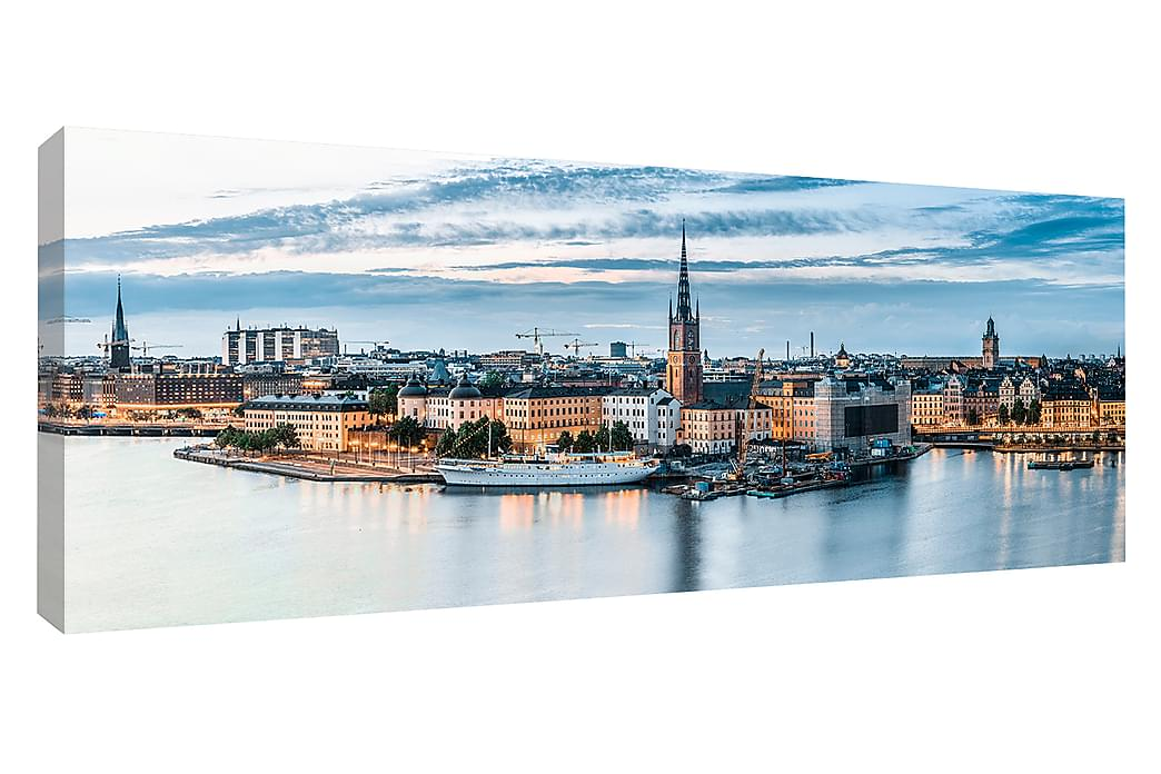 Tavla Canvas Gamla Stan, Stockholm - 60x150 cm - Inredning - Väggdekor - Canvastavlor