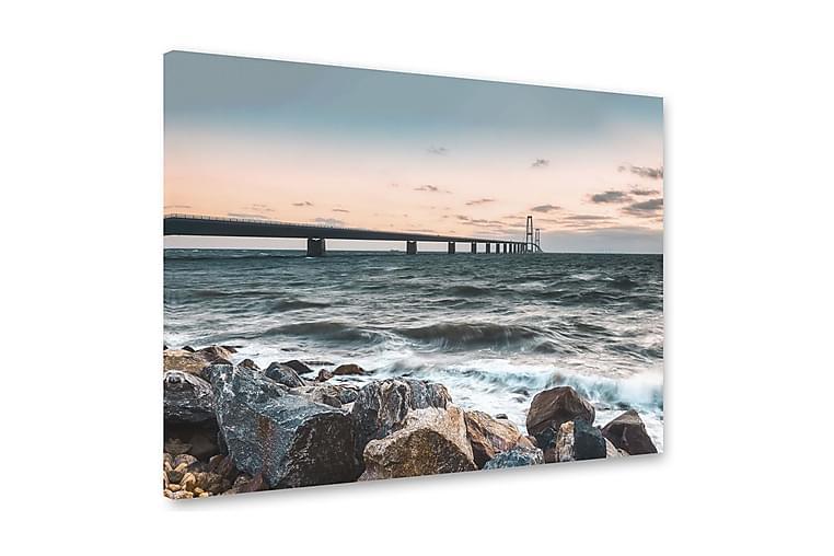 Tavla Malmö 75x100 cm - Multifärgad - Inredning - Väggdekor - Canvastavlor
