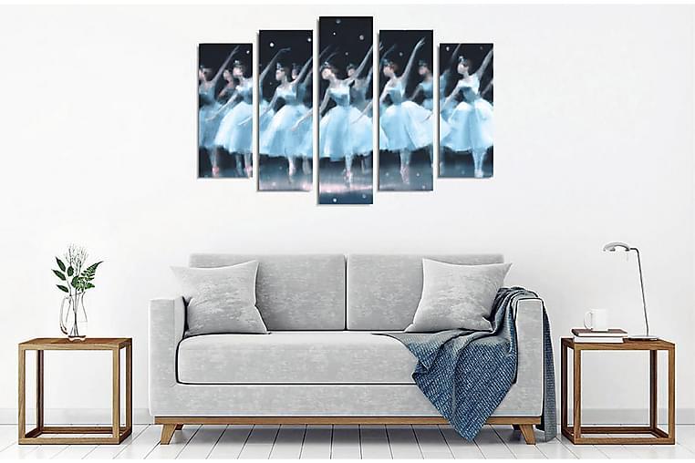 Väggdekor Canvas Målning 5 Delar - Inredning - Väggdekor - Canvastavlor