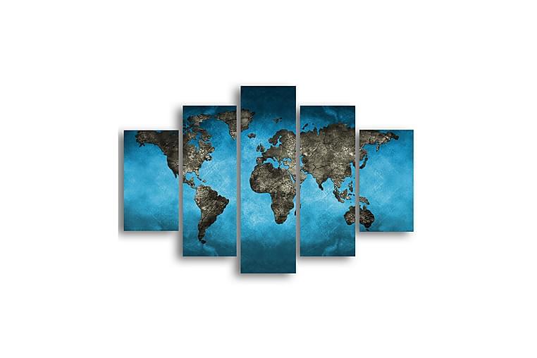 Världen Ramverk - Homemania - Inredning - Väggdekor - Canvastavlor