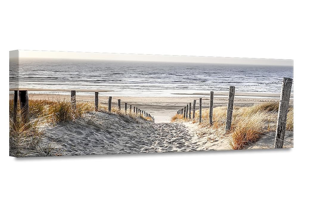 Warm Sand Tavla Canvas 45x140cm - Flerfärgad - Inredning - Väggdekor - Canvastavlor