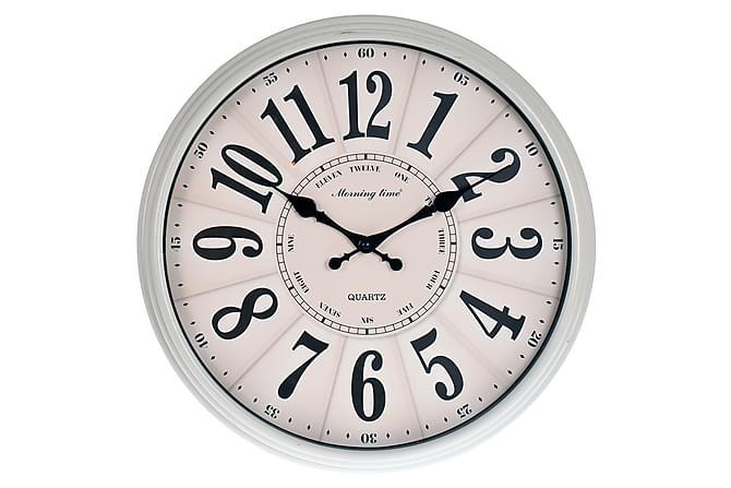 Klocka Melleran 40 cm Rund - Vit - Inredning - Väggdekor - Klockor