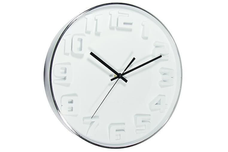 Klocka White 33,5x33,5 cm - Art Link - Inredning - Väggdekor - Klockor