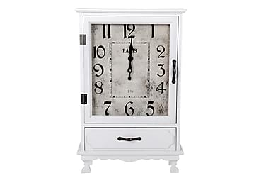 Klocka Zaccheus med Låda i Trä 36x55 cm