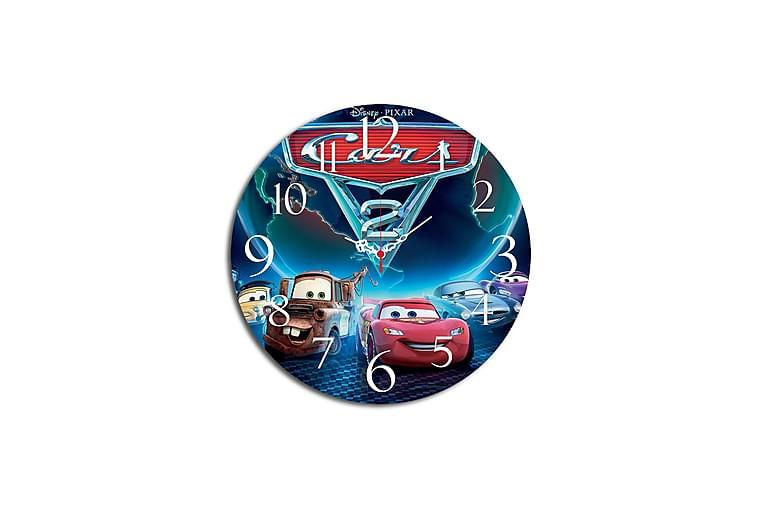 MDF-klocka Dekorativ - Flerfärgad - Inredning - Väggdekor - Klockor
