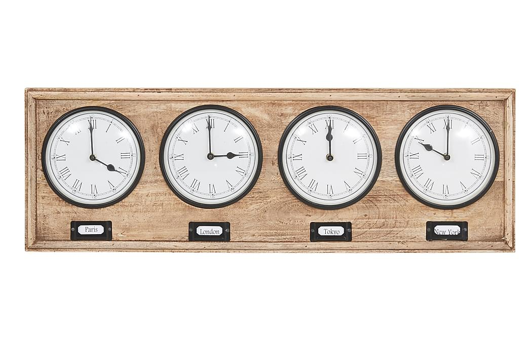 Väggklocka Bagwill - Beige - Inredning - Väggdekor - Klockor