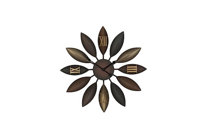 Väggklocka Beinwil 55 cm - Brun - Inredning - Väggdekor - Klockor