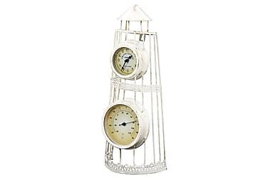 Väggklocka med termometer vintage