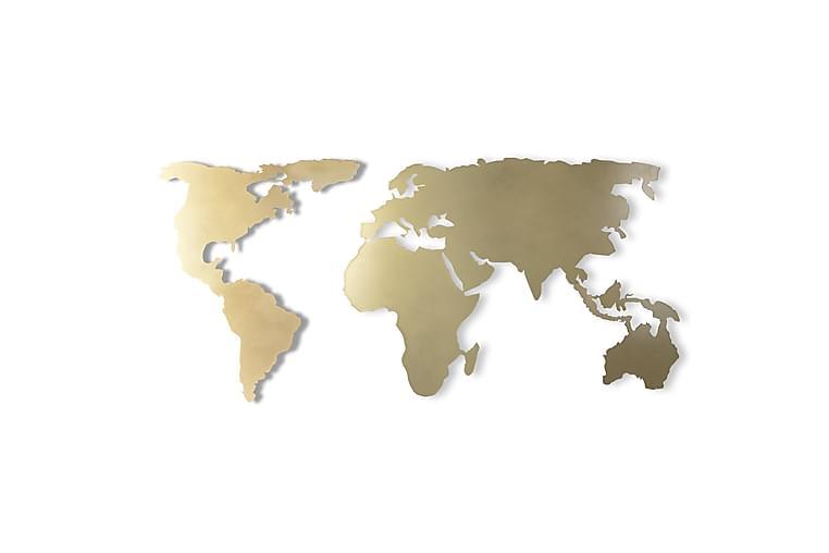 Väggaccessoar Dekorativ - Guld - Inredning - Väggdekor - Plåtskyltar