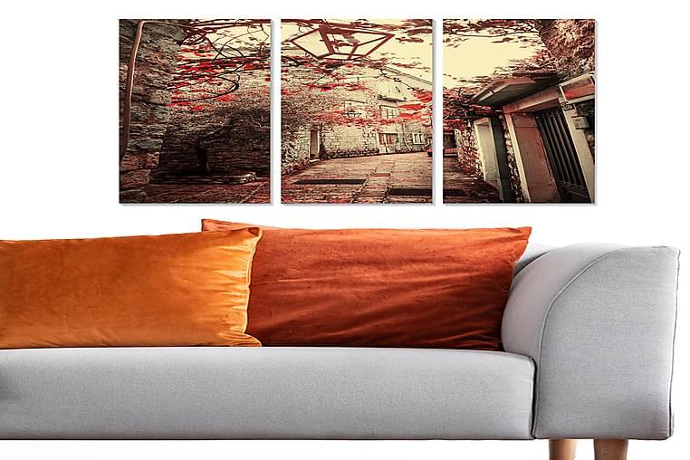 Canvastavla Scenic 3-pack Flerfärgad - 20x50 cm - Inredning - Väggdekor - Posters