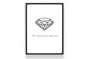 Poster Diamant 50x70cm - 230g matt fotopapper