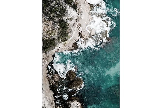 Poster Green Ocean - 50x70cm - Inredning - Väggdekor - Posters
