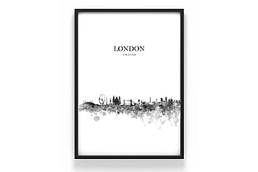 Poster London 50x70cm - 230g matt fotopapper