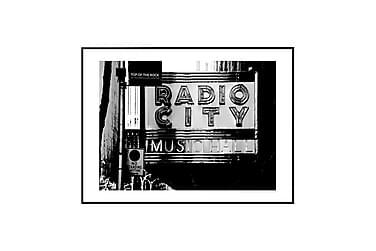 Poster Radio City black