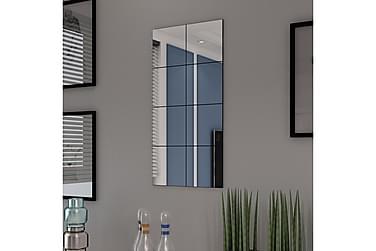 Ramlösa spegelplattor glas 8 st 20,5 cm
