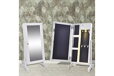 Smyckesskåp Debera med Spegel LED