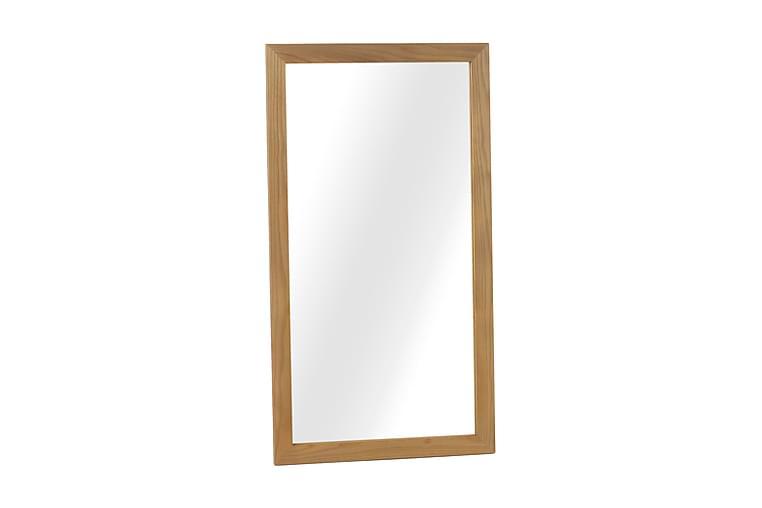 Spegel 110 cm - Trä|Natur - Inredning - Väggdekor - Speglar