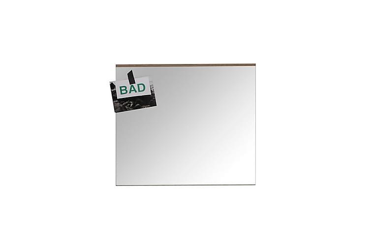 Spegel Aeon 60 cm - Ljus Ek Vit Högglans - Inredning - Väggdekor - Speglar