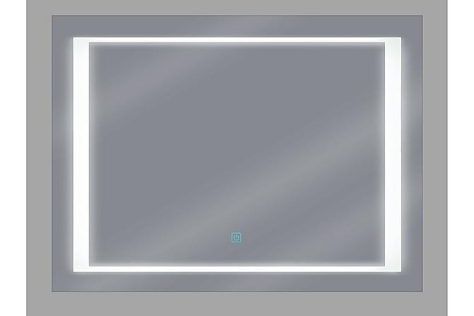Spegel Avanesian LED 60x80 cm - Silver - Inredning - Väggdekor - Speglar