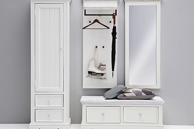 Spegel Beanta Vit/Sandad - 59x145 cm - Inredning - Väggdekor - Speglar