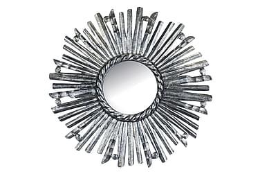 Spegel Perlita Sol 70 cm Trä