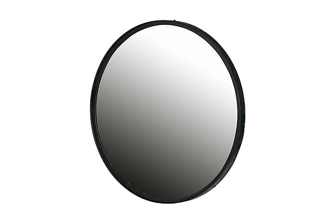 Spegel XL Renza 80 cm Rund - Metall - Inredning - Väggdekor - Speglar