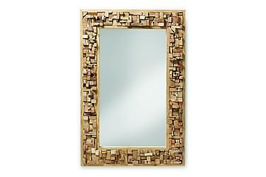 Spegel Yalana 80/7 cm Teak