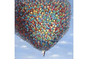 Canvastavla Ballonger 115x115
