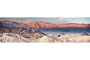 Canvastavla Mountain Scape 50x180