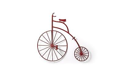 Cykel Väggdekoration Elcy Röd 72/10cm