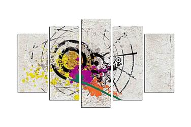Decorative MDF Painting (5 Pieces)