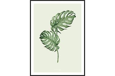Tavla Leaf green 50x70 cm