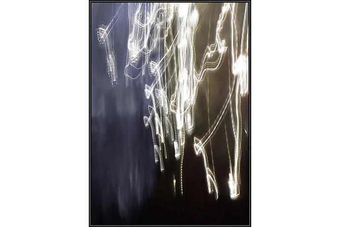 Tavla Magic light 50x70 cm - Vit|Svart - Inredning - Väggdekor - Tavlor & konst
